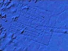 Атлантида на северо-западе от Африки в Атлантическом Океане