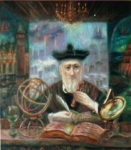 Портрет Нострадамуса