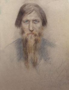 Распутин в 1914 году Автор Е. Н. Клокачёва
