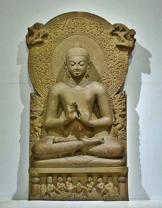 Статуя Будды из Сарнатх, IV в. н. э.