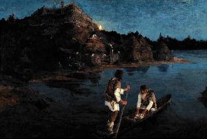 «Гонец (Восстал род на род)». 1897