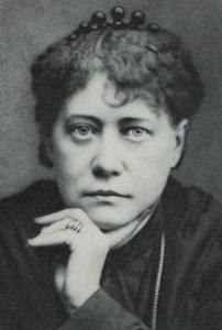 Фотопортрет Е. П. Блаватской в 1877 году