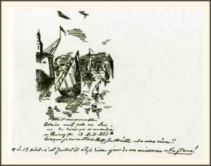 Рисунок, который сделала Е. П. Блаватская 12 августа 1851 года