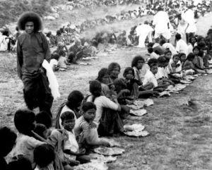 Бесплатный обед для бедных, 1948 г.