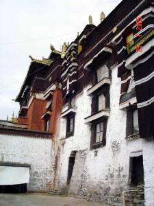 Дворец Панчен-ламы в монастыре Ташилумпо в Шигадзе