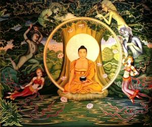 Будда под деревом