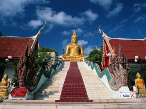 Памятник Будде