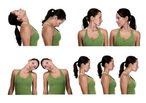упражнения для расслабления мышц шеи и плеч