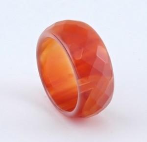 Сердолик кольцо