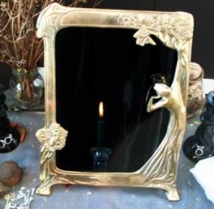 обсидиан зеркало