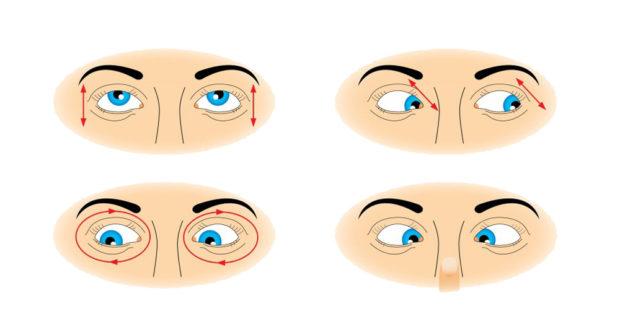 гимнастика для расслабления глаз